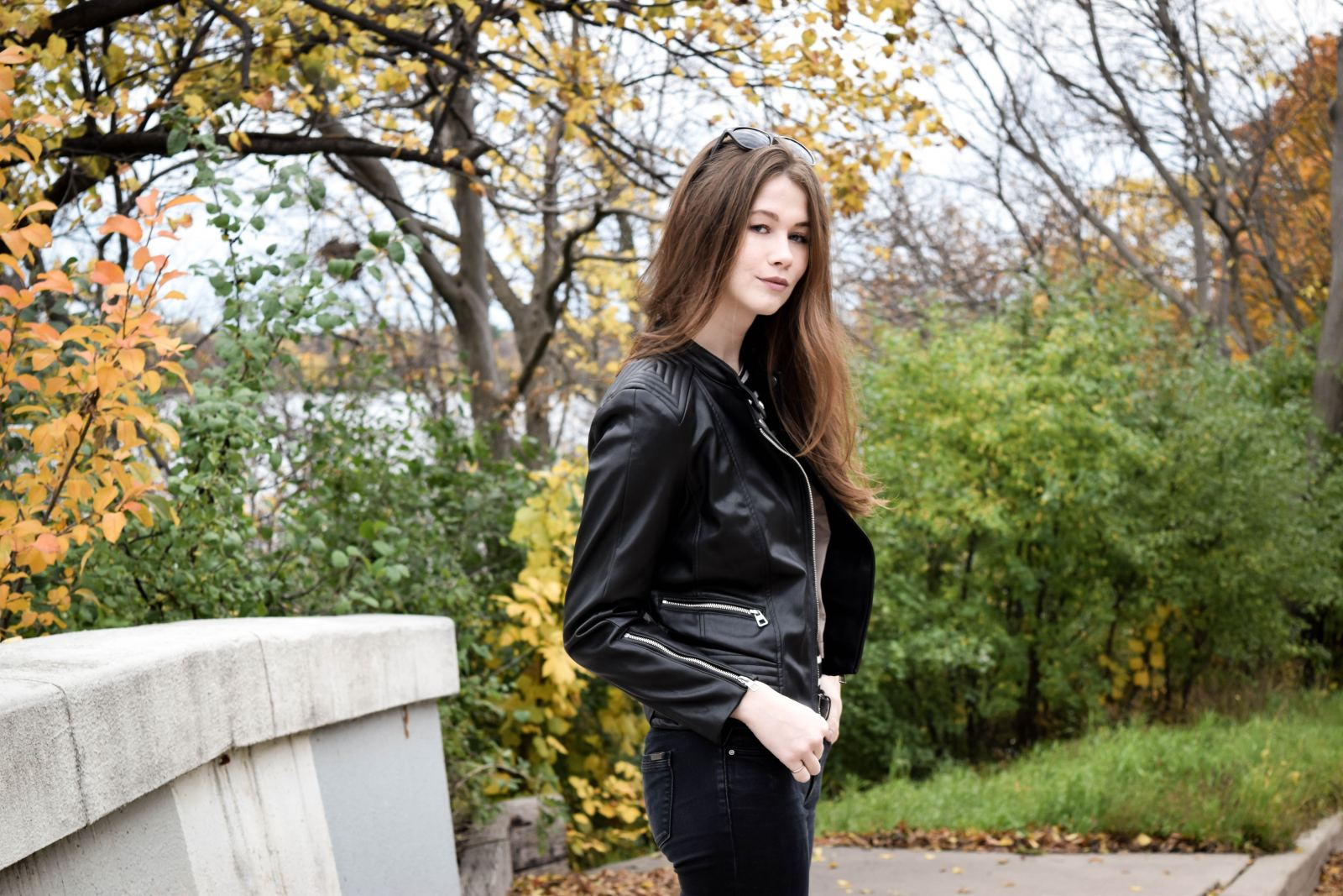 Leather Jacket 3 | Monochrome Minimalist