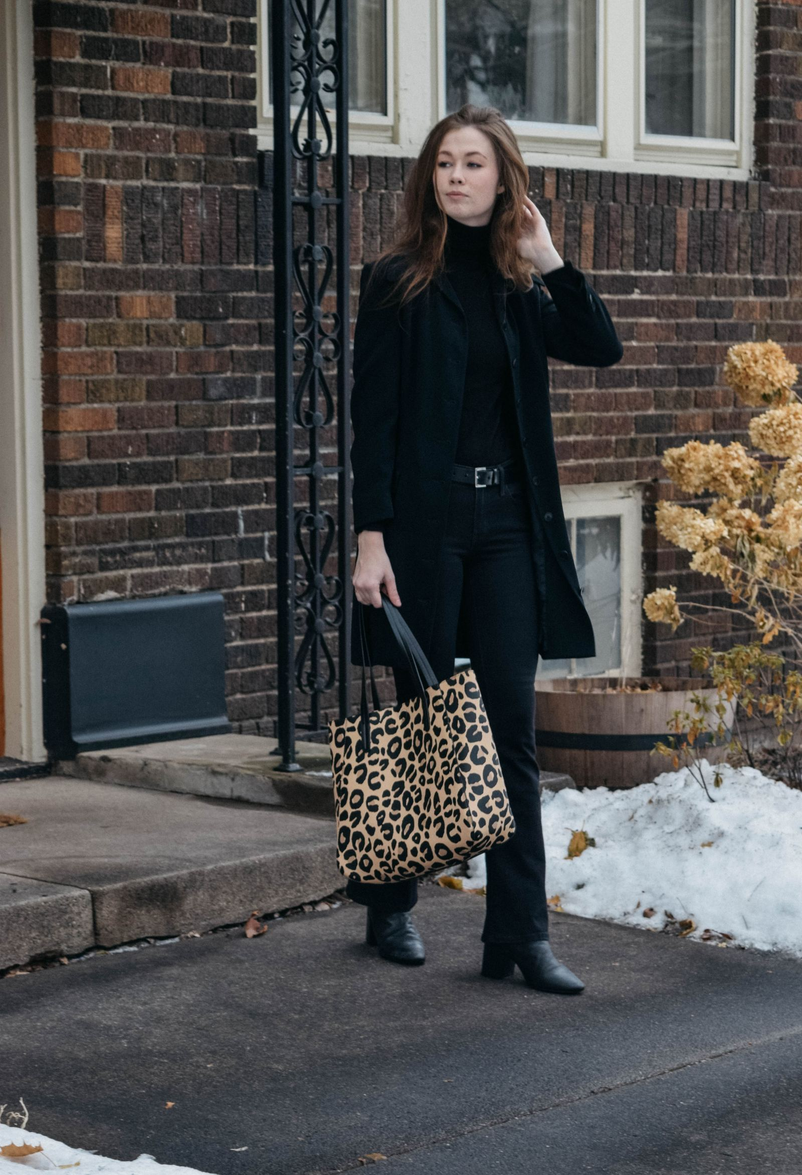 What to pair with an all black look