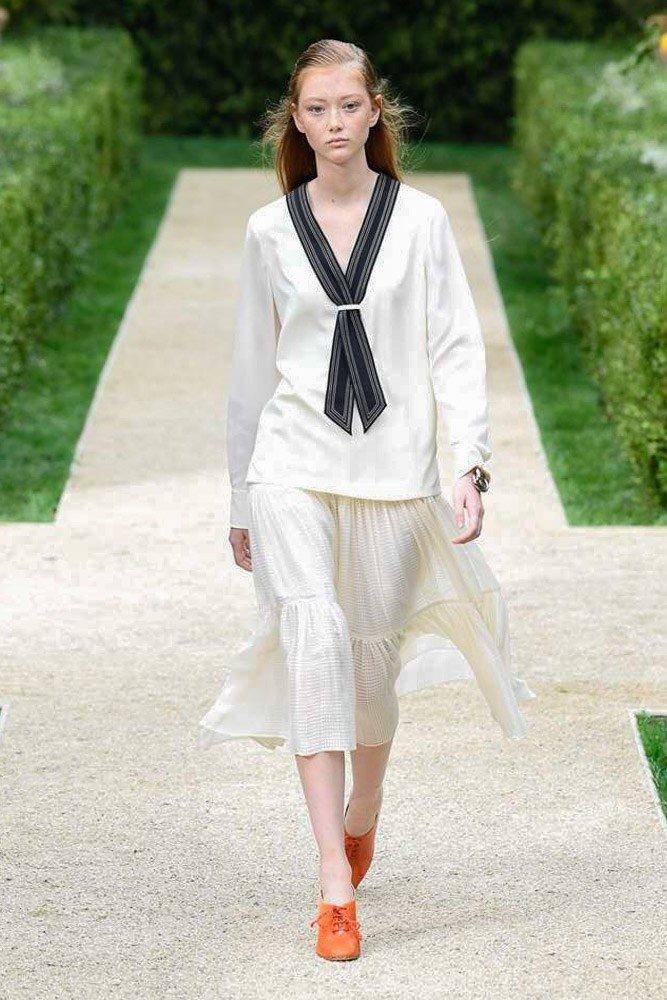 New York Fashion Week | Tory Burch | Image via vogue.com
