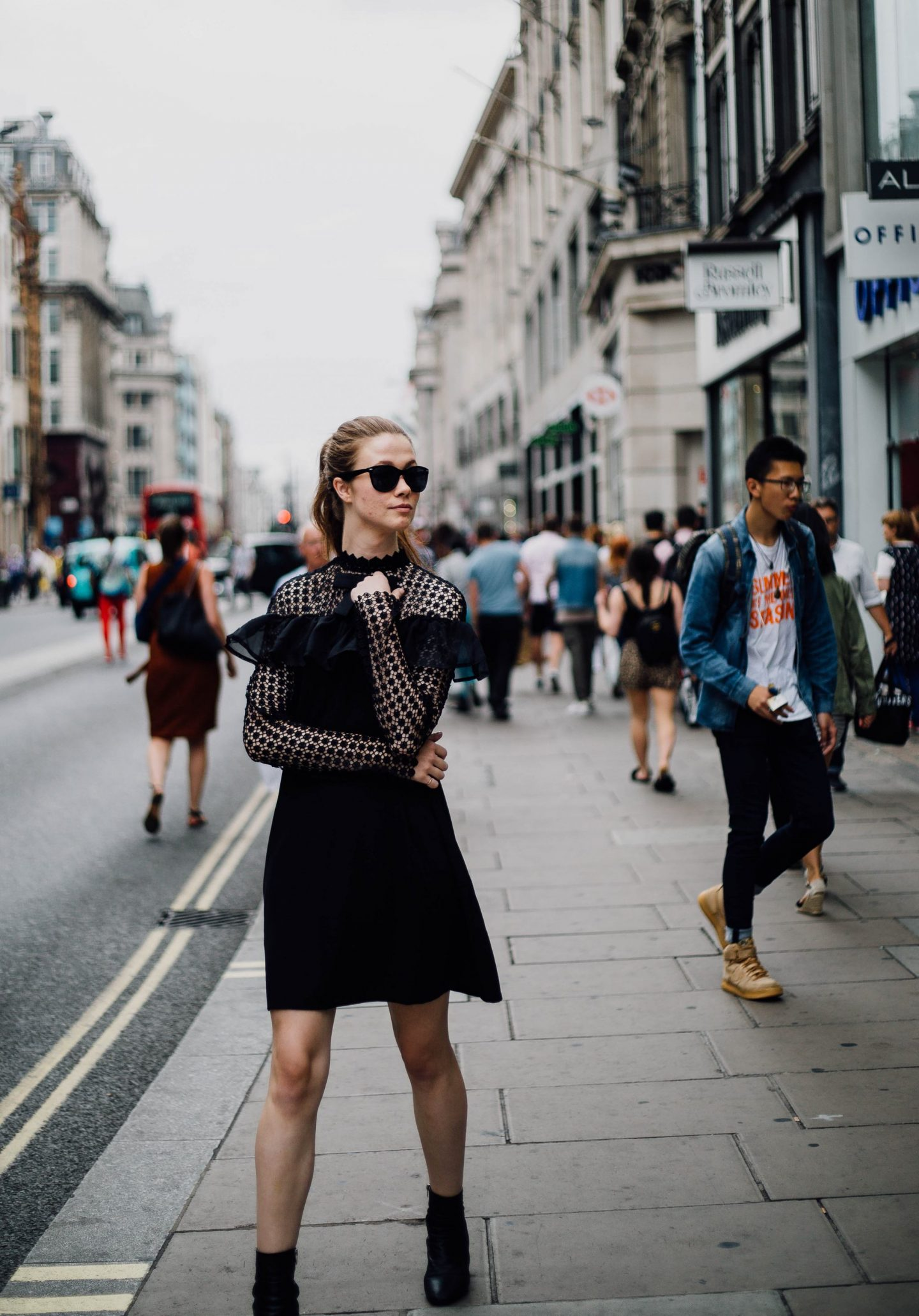Monochrome Minimalist | Self Discovery | London | Oxford Street | Fashion | Amy Lynn Clothing