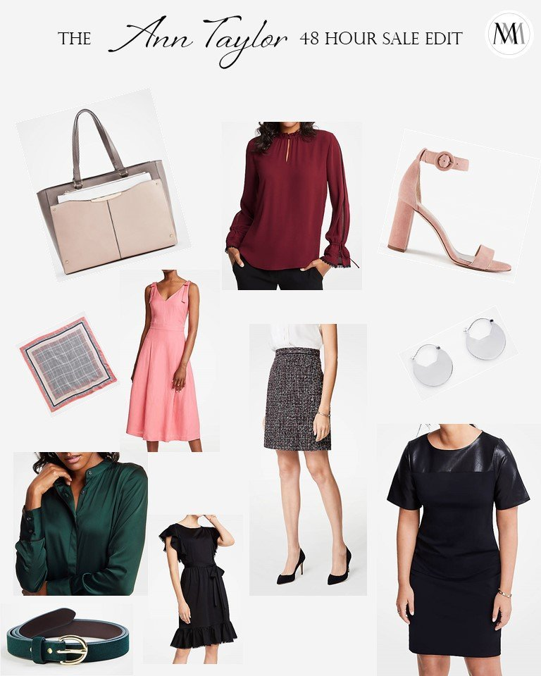 Ann Taylor | Ann Taylor Sale | 48 Hour Sale | Autumn Fashion | Fall Fashion | Style | Workwear | Fall Sale