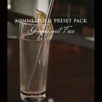 Adobe Lightroom Presets, Monochrome Minimalist Presets, Grapefruit Fizz Preset