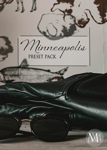 Adobe Lightroom Presets, Monochrome Minimalist Presets, Minneapolis Preset Pack