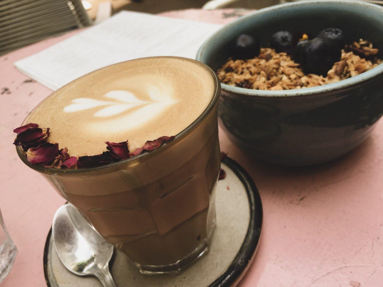 Monochrome Minimalist, Rose Latte, Farm Girl Café