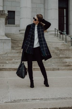 Monochrome Minimalist, Fashion Blogger, Minneapolis